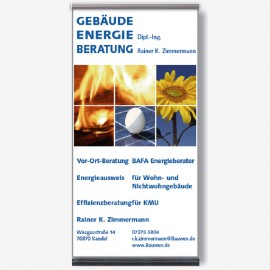 Roll-up zur Energiemesse/Kandel
