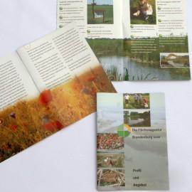 Broschüre der Flächenagentur Brandenburg