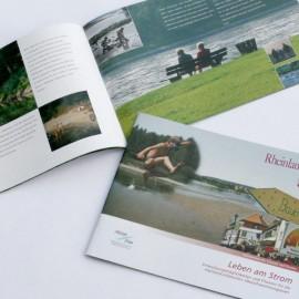Broschüre zum Thema Hochwasserschutz
