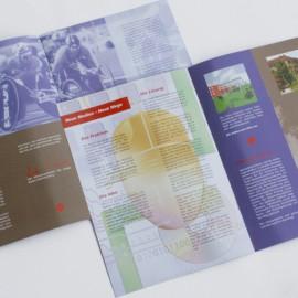 Broschüre für IT-Hochschule
