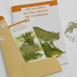 """Umweltbildungsmappe """"Wildkatze"""" des Bunds für Umwelt und Naturschutz Deutschland e. V. (BUND)"""