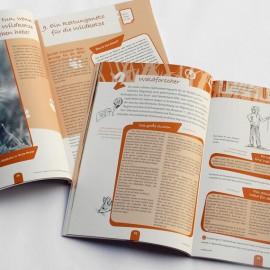 """Broschüre aus der Umweltbildungsmappe """"Wildkatze"""" des Bunds für Umwelt und Naturschutz Deutschland e. V. (BUND)"""