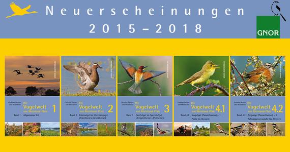 Die Vogelwelt von Rheinland-Pfalz