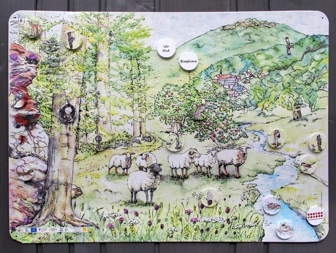 Illustration Naturraum Pfälzerwald-Nordvogesen